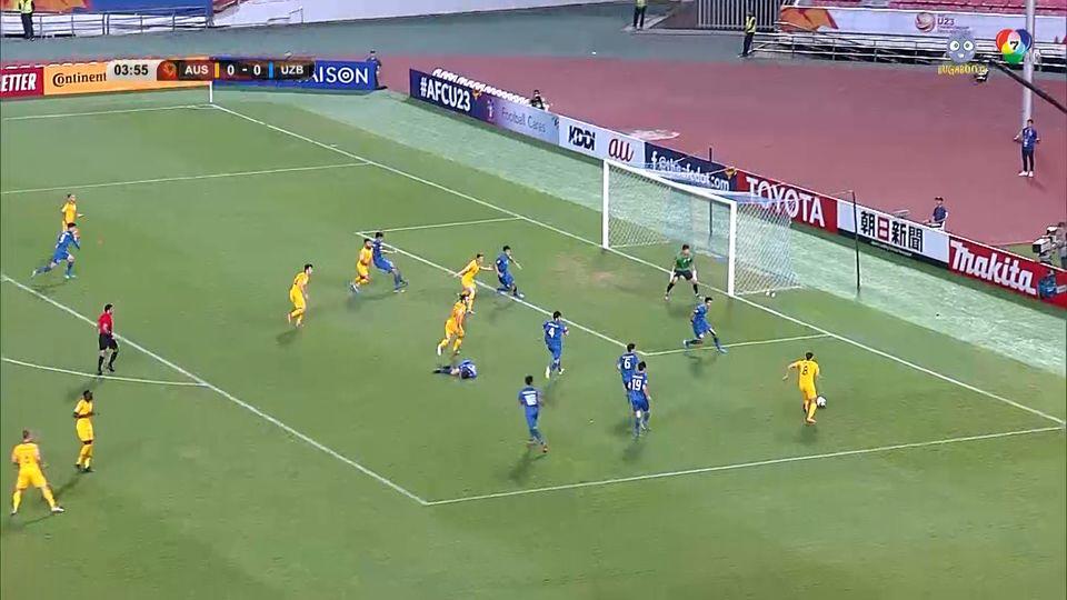 ออสเตรเลีย 1-0 อุซเบกิสถาน ฟุตบอล U23 ชิงแชมป์เอเชีย 2020 คลิป 1/2