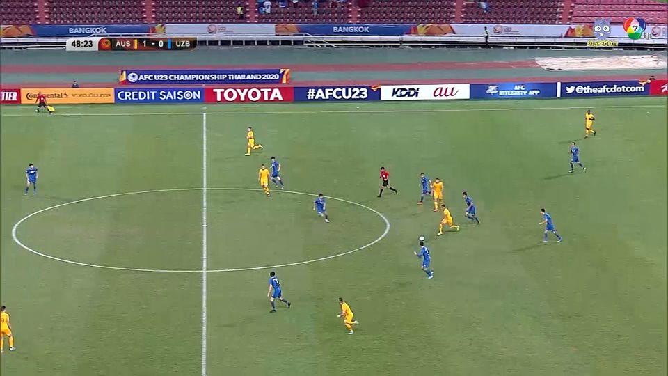 ออสเตรเลีย 1-0 อุซเบกิสถาน ฟุตบอล U23 ชิงแชมป์เอเชีย 2020 คลิป 2/2