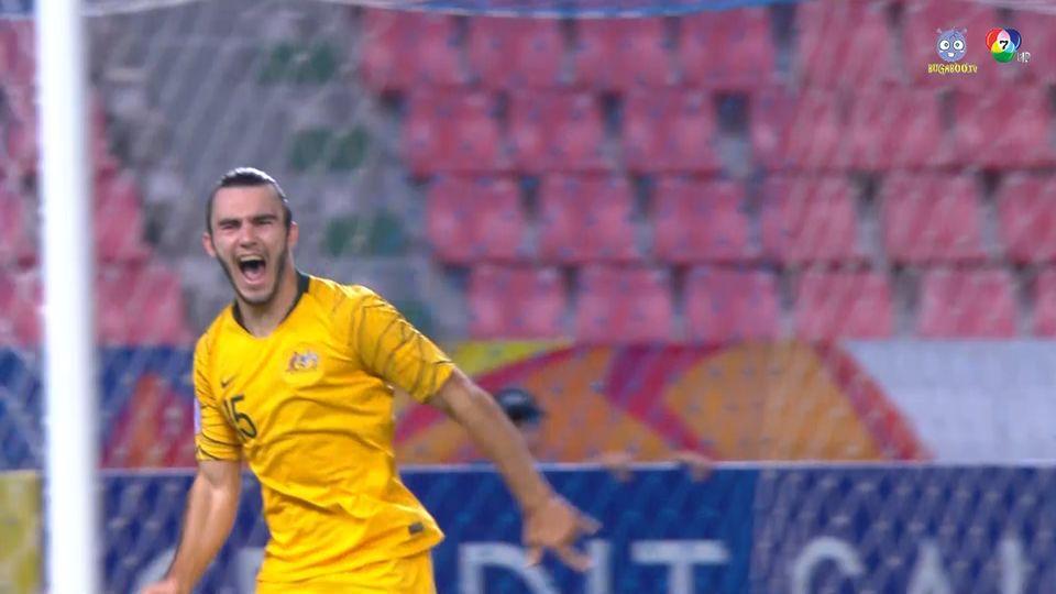 ไฮไลต์ ออสเตรเลีย 1-0 อุซเบกิสถาน ฟุตบอล U23 ชิงแชมป์เอเชีย 2020