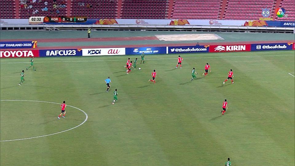 เกาหลีใต้ 1-0 ซาอุดีอาระเบีย ฟุตบอล U23 ชิงแชมป์เอเชีย 2020 คลิป 1/3 (ต่อเวลาพิเศษ)