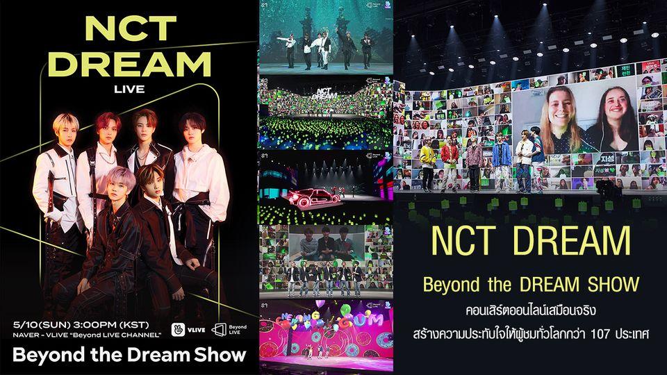 'NCT DREAM' จัดเต็ม 'Beyond LIVE' เพิ่มความรู้สึกเสมือนจริง พาแฟนคลับอินไปด้วยกันกว่า 107 ประเทศ