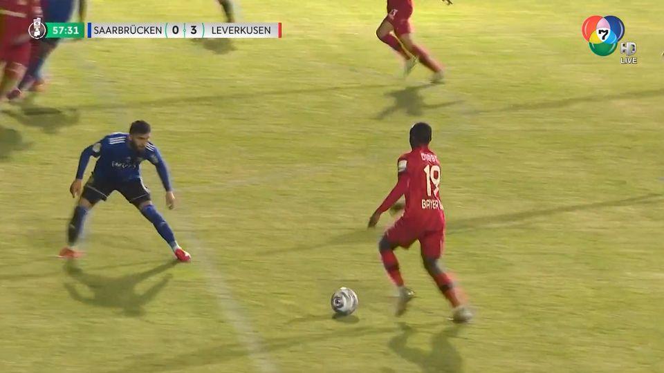 ไฮไลต์ฟุตบอลเดเอฟเบ โพคาล ซาร์บรูคเคน 0-3 เลเวอร์คูเซน
