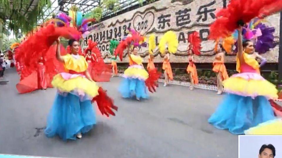 สีสันขบวนคาร์นิวัลช้างเต้นระบำ สวนนงนุช ดึงดูดนักท่องเที่ยว