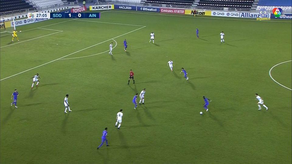 อัล-ซาดด์ 4-0 อัล ไอน์ ฟุตบอลเอเอฟซี แชมเปียนส์ลีก 2020 คลิป 1/2