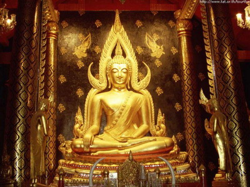คาถาบูชาพระพุทธชินราช เพื่อสิริมงคล