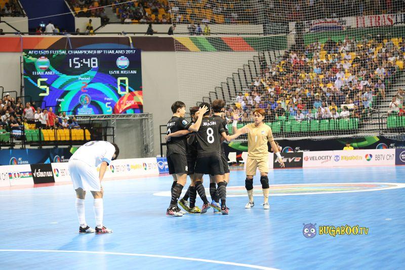 ประมวลภาพ  ไทย - อุซเบกิสถาน ฟุตซอล U20 ชิงแชมป์เอเชีย 2017 ชิงอันดับ 3