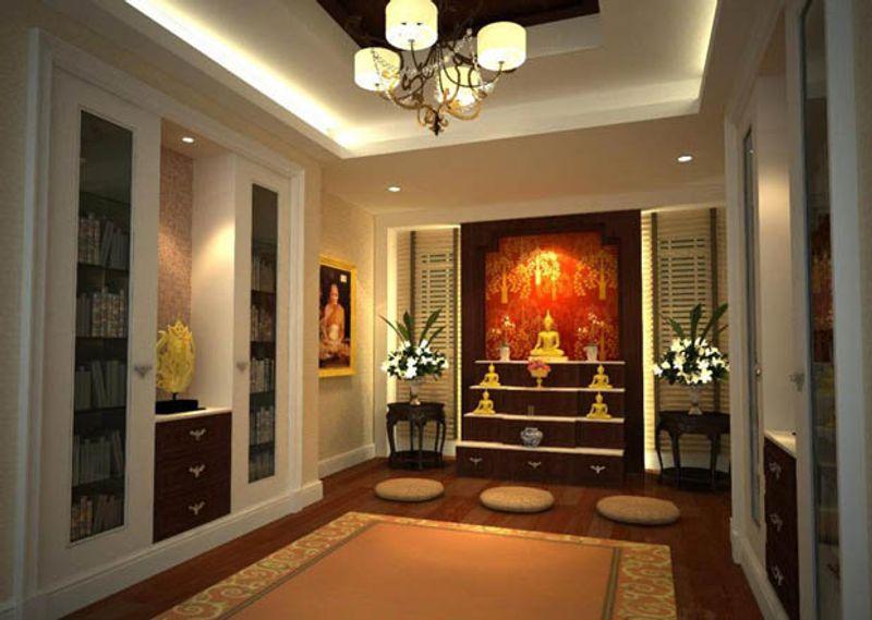 การจัดห้องพระและจัดวางตำแหน่งสิ่งศักดิ์สิทธิ์ให้ถูกหลัก