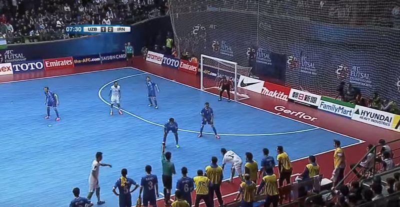 คลิปไฮไลท์ย้อนหลัง อิหร่าน - อุซเบกิสถาน ฟุตซอลเอเชีย 2016 ชิงชนะเลิศ