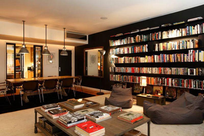 ฮวงจุ้ยห้องหนังสือในบ้าน