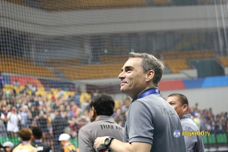 ประมวลภาพฉลองชัย ไทยคว้าที่ 3 ฟุตซอล U20 ชิงแชมป์เอเชีย 2017