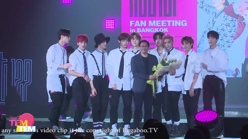 NCT 127 Fan Meeting in Bangkok Press Conference
