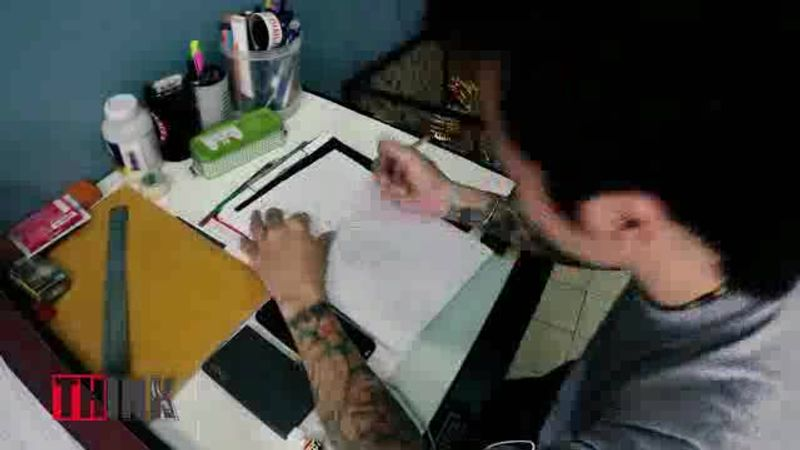 THINK | EP.9 Time Lapse Hell69Tattoo