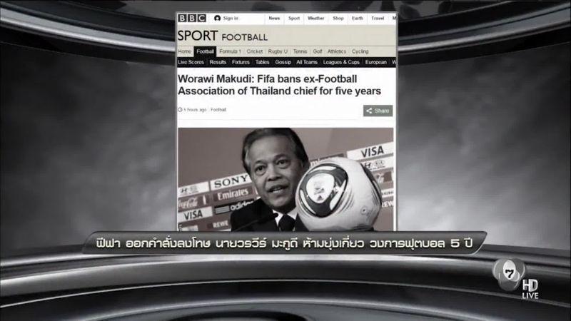 ฟีฟ่า ออกคำสั่งลงโทษ วรวีร์ มะกูดี ห้ามยุ่งเกี่ยววงการฟุตบอล 5 ปี