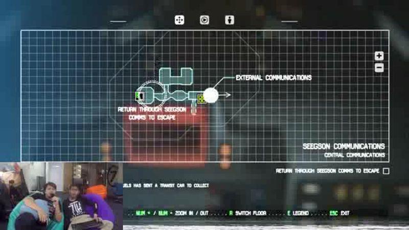 Caster Survivor ตอน โดดงานมาเล่นเกม Alien Isolation 3/1