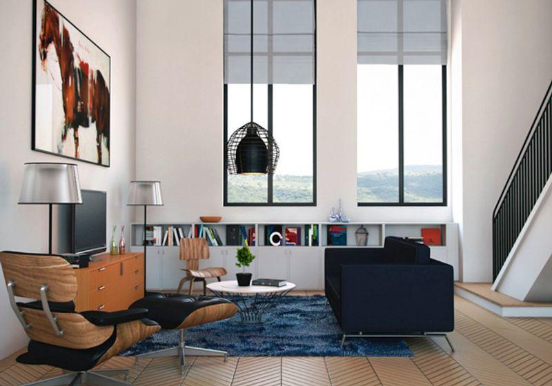 ฮวงจุ้ยบ้านกับการเลือกสีทาภายในสำหรับห้องนั่งเล่น