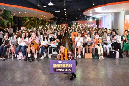 """""""ช้อปปี้"""" ชวนแฟน ๆ ชาวไทยต้อนรับ """"แบมแบม"""" กลับบ้านใน """"Shopee BamBam Homecoming"""""""
