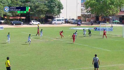 Hot Shot - อนุชา สดศรี ยิงเสียบสามเหลี่ยม ในเกม อัสสัมชัญธนบุรี ชนะ สารวิทยา 4-0