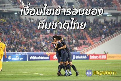 เงื่อนไขเข้ารอบของ ทีมชาติไทย ในฟุตบอล AFC U23
