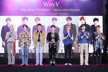 WayV 'Take Over The Moon' PRESS CONFERENCE & The 1st Fan Signing Event in BANGKOK