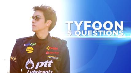 5Q-5Questions | 5 คำถามรู้จักตัวตน ไต้ฝุ่น ตากเพชร
