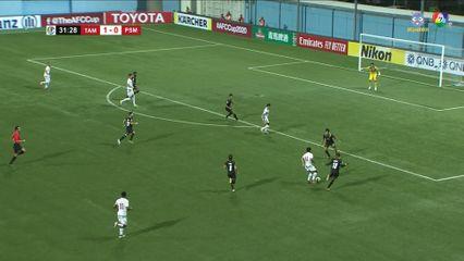 ฟุตบอลเอเอฟซี คัพ 2020 Tampines Rovers FC 2-1 PSM Makassar คลิป 1/2