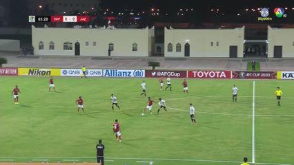 ฟุตบอลเอเอฟซี คัพ 2020 Dhofar Club 1-0 Al Jazeera คลิป 1/2