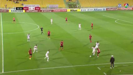 ฟุตบอลเอเอฟซี คัพ 2020 Al Wathba 0-0 Kuwait SC คลิป 1/2