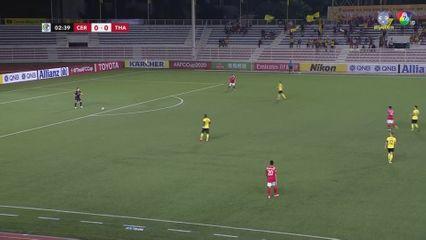 ฟุตบอลเอเอฟซี คัพ 2020 Ceres Negros FC 2-2 Than Quang Ninh คลิป 1/2
