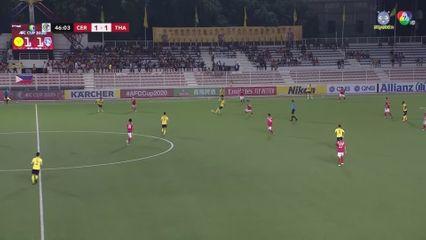 ฟุตบอลเอเอฟซี คัพ 2020 Ceres Negros FC 2-2 Than Quang Ninh คลิป 2/2