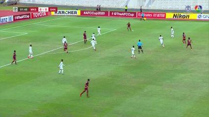 ฟุตบอลเอเอฟซี คัพ 2020 PSM Makassar 3-1 Shan United FC คลิป 1/2