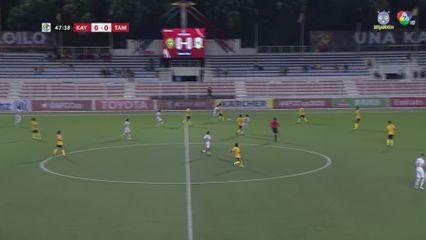 ฟุตบอลเอเอฟซี คัพ 2020 Kaya FC-ILOILO 0-0 Tampines Rovers FC คลิป 2/2