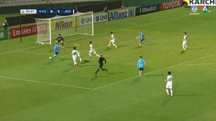 ซิดนีย์ เอฟซี 2-2 ชุนบุค ฮุนได มอเตอร์ส ฟุตบอลเอเอฟซี แชมเปียนส์ลีก 2020 คลิป 2/2