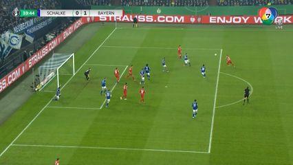 ไฮไลต์ฟุตบอลเดเอฟเบ ชาลเก 04 0-1 บาเยิร์น มิวนิค