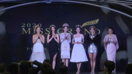 บรรยากาศงานแถลงข่าว Miss Grand Thailand 2020 17 มี.ค.63