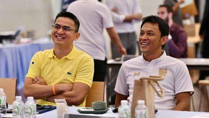 โค้ชซิโก้-โค้ชแบน ร่วมงานสมาคมฟุตบอลฯ ออกแบบหลักสูตรฝึกเด็กไทย