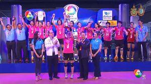 โค่นแชมป์เก่า ! ศรีปทุมชนะ รัตนบัณฑิต 3-1 ผงาดแชมป์กีฬา 7 สี วอลเลย์บอล 2016
