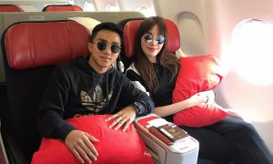 สวีทหวาน! ชนาธิป ควงเมย์บินเที่ยวญี่ปุ่นพักผ่อน ก่อนเปิดตัวสโมสรใหม่เจลีก