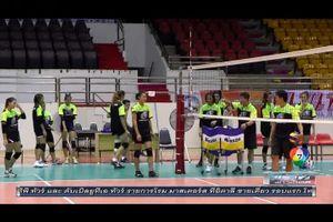 วอลเลย์บอลหญิง U23 ชิงแชมป์เอเชีย รอบสอง ไทย พบ คาซัคสถาน