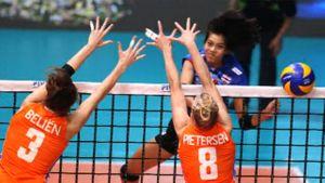 วอลเลย์หญิงไทย กระหึ่ม! พลิกชนะ เนเธอร์แลนด์ 3-2 เซต ขึ้นเป็นทีมนำ