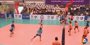 ศรีปทุม - รังสิต เฮ! สรุปผลแชมป์กีฬา 7 สี วอลเลย์บอล 2016 ( 7 ก.ย.59)