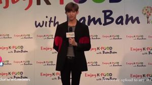 K-FOOD Day with BamBam Press Conference