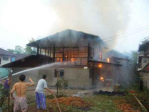คาถาป้องกันไฟ ป้องกันไม่ให้ไฟไหม้บ้านหรือให้รู้ตัวก่อน