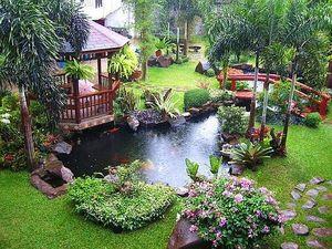 จัดสวนสวยตามหลักฮวงจุ้ย เสริมมงคล