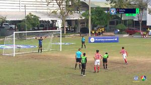อัสสัมชัญ 1-1 ธัญรัตน์ ฟุตบอลแชมป์กีฬา 7 สี 2018 รอบสุดท้าย 1/2