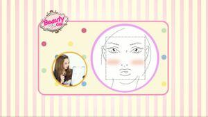 BeautyClip ตอน 4 วิธีปัดแก้มตามรูปหน้า (ตอนที่ 1)